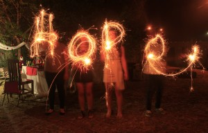 Sparkler Hope
